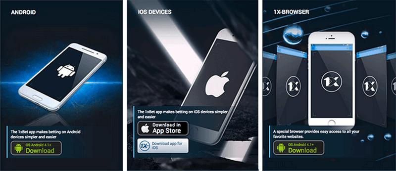 aplicacion 1xBet Android